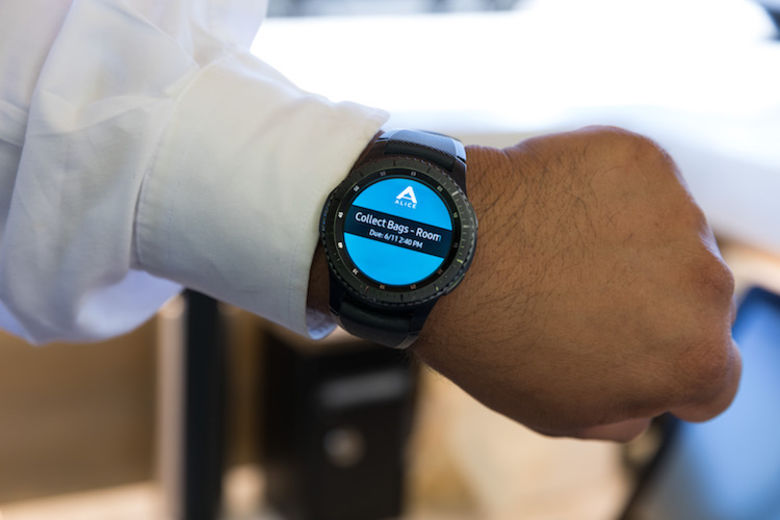 ALICE And Samsung Develop The Smartwatch The Hospitality Industry Has Been Waiting For