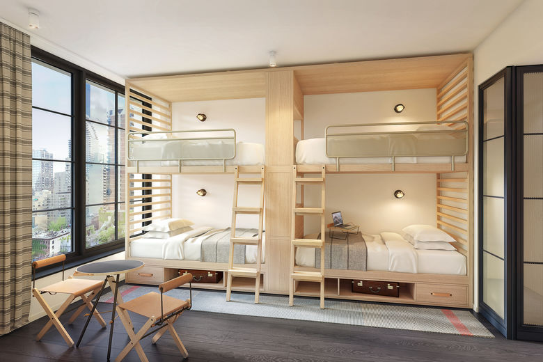 Guests Will Be Inspired At The New Toronto Marriott: Moxy Chelsea NYC, Opening This Fall