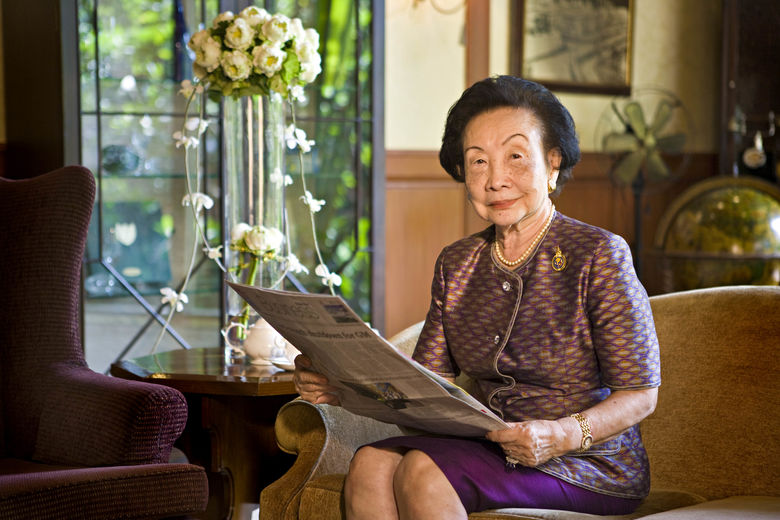 Renowned hotelier Thanpuying Chanut Piyaoui, founder of Dusit International, receives SHTM Lifetime Achievement Award