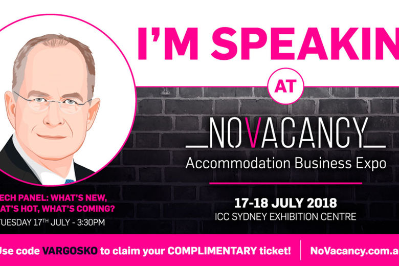 Angie Hospitality to Participate in Industry Expert Tech Panel at NoVacancy Expo in Sydney