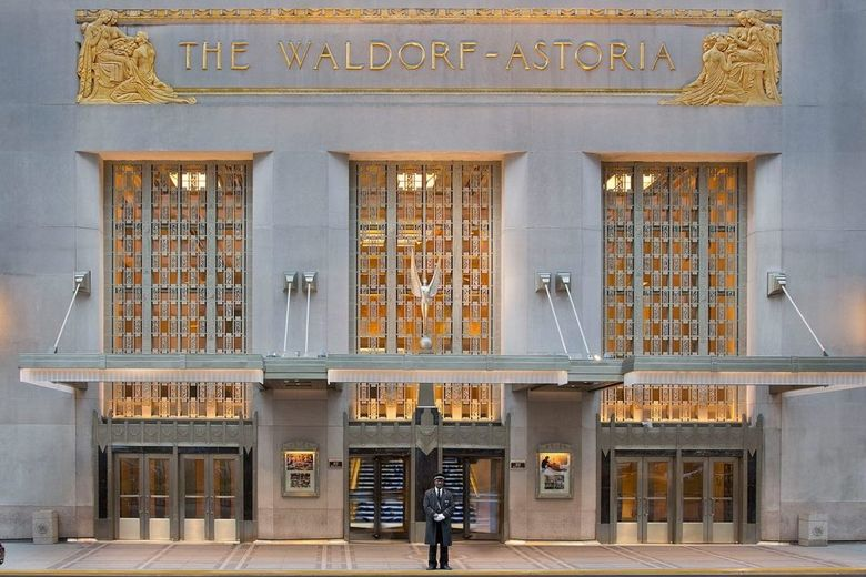 Anbang Spiffs Up Waldorf Astoria to Reopen It in 2021