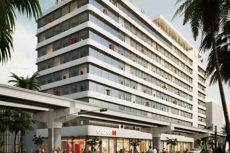Citizenm Plans New 348 Room Miami Hotel Hospitality Net