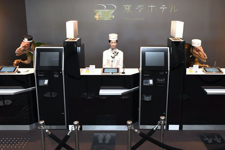 Robots: Hotel customers like them (mostly)! | By Lina Zhong and Rohit Verma