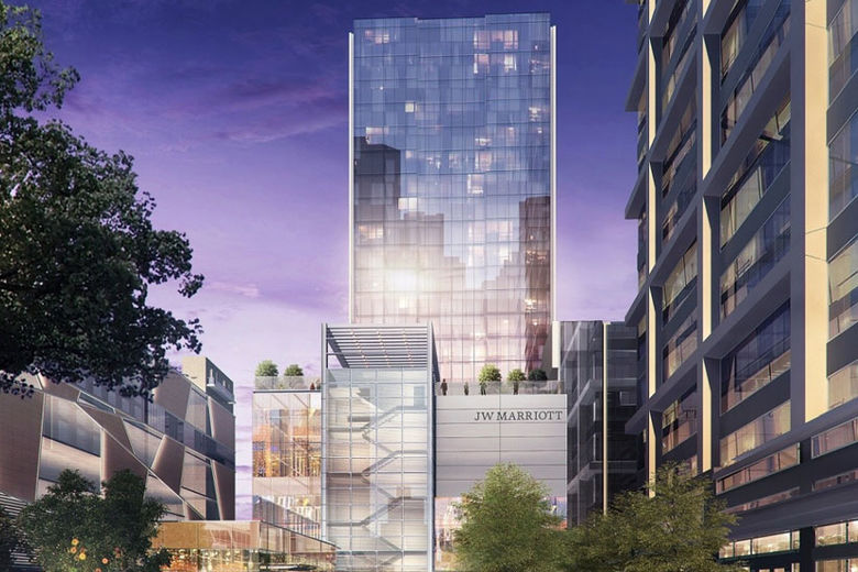 White Lodging To Build The First Jw Marriott In North