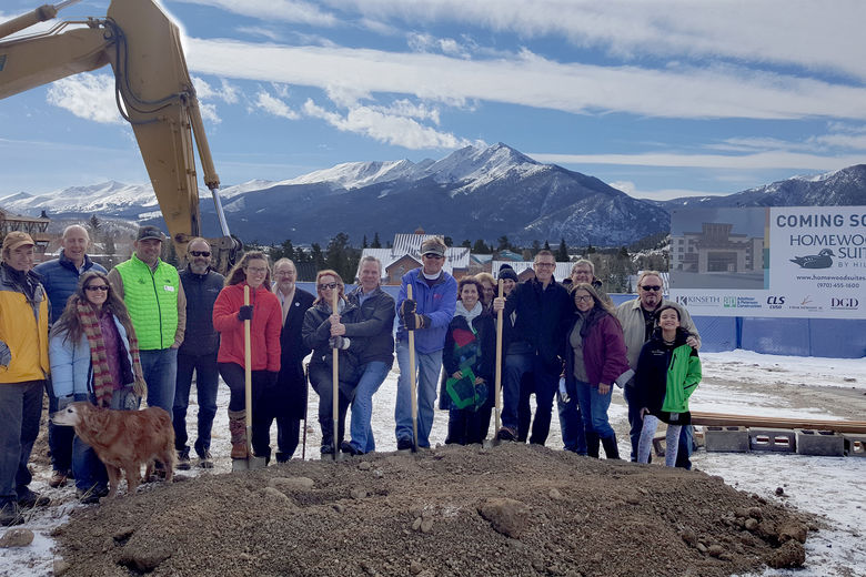 Kinseth Hospitality breaks ground on Homewood Suites hotel in Dillon, CO