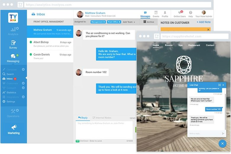 TrustYou's New Live Chat Helps Hotels Turn Website Visitors Into Direct Bookings