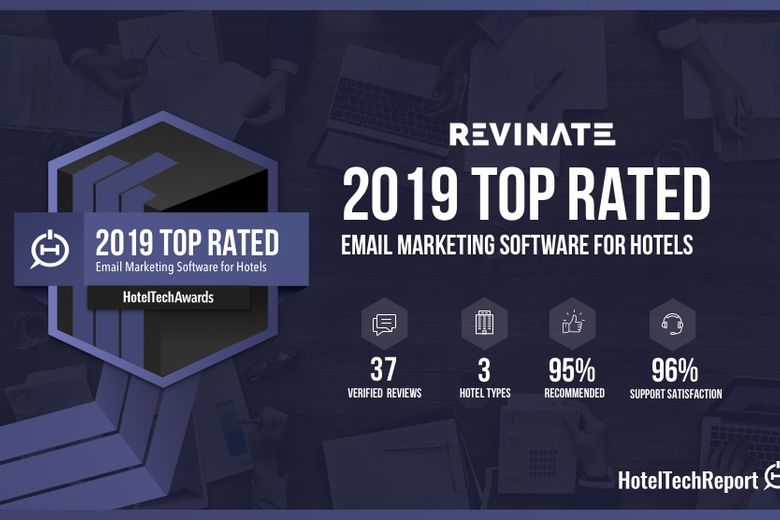 Revinate Marketing Wins 2019 HotelTechAward