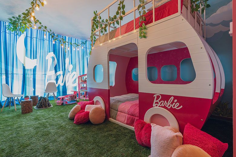 Hilton Mexico City Santa Fe Debuts Barbie®-Themed Glamping Experience