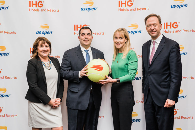 IHG® Hotels & Resorts Named Official Hotel And Hotel Loyalty Partner Of The Us Open Tennis Championships