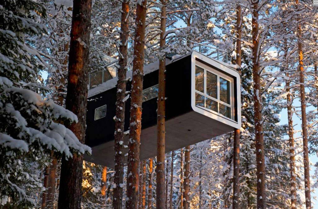 Treehouses, a Hospitality Trend with a Touch of Childhood Charm