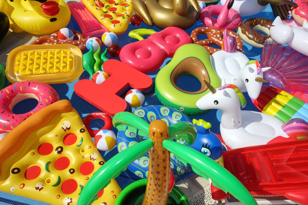 Inflatable Sanctuary Launches In Response To Abandoned Pool Inflatables