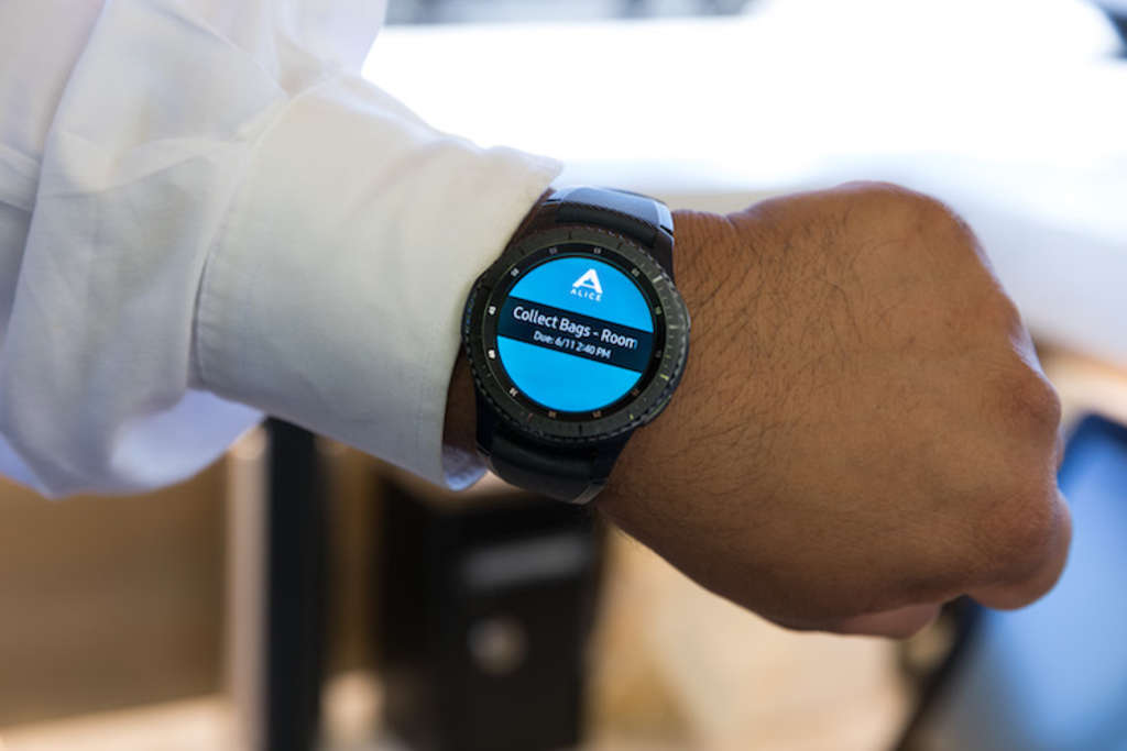ALICE And Samsung Develop The Smartwatch The Hospitality