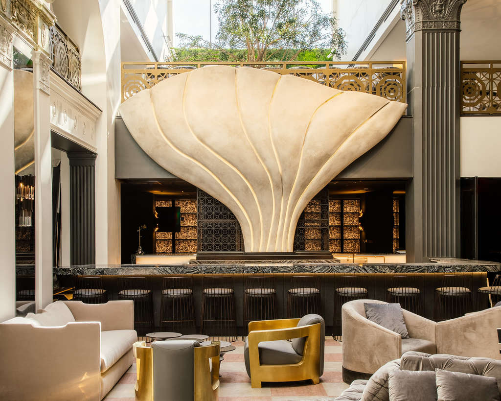 The Mayfair Hotel Downtown Los Angeles Newest Social Hub Debuts Sultry Interiors New Dining Venues And A Dynamic Arts And Entertainment Program Hospitality Net