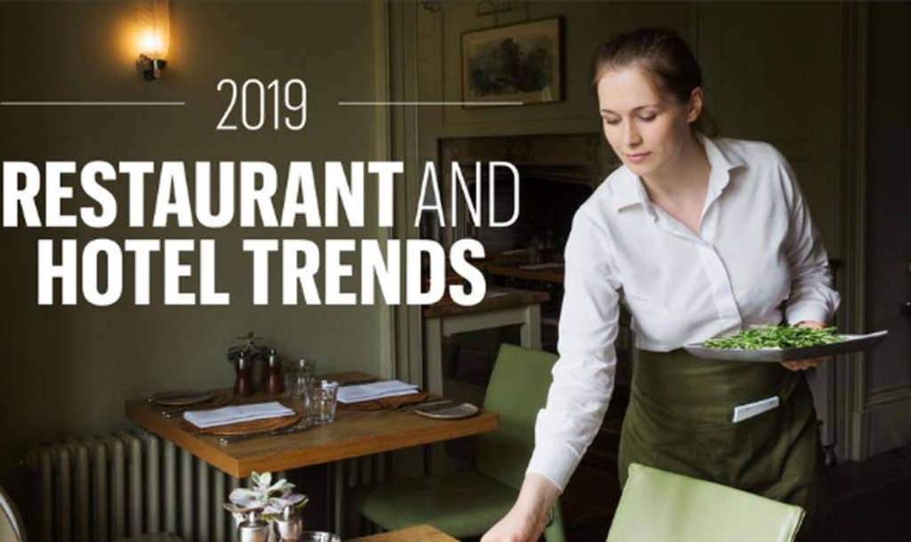 "From robots to ""meat"" — the biggest restaurant, hotel trends predicted to hit in 2019"