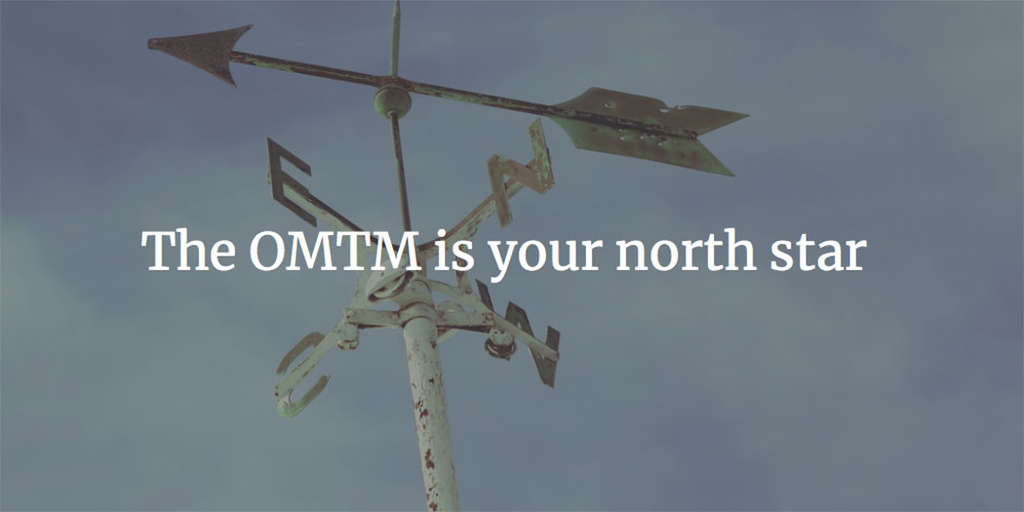 The Most Important Metric In Hotel Marketing: What's Your OMTM? | By Dave Spector, Partner at Tambourine