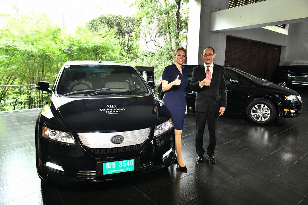 Millennium Hilton Bangkok Collaborates with BYD Thailand to