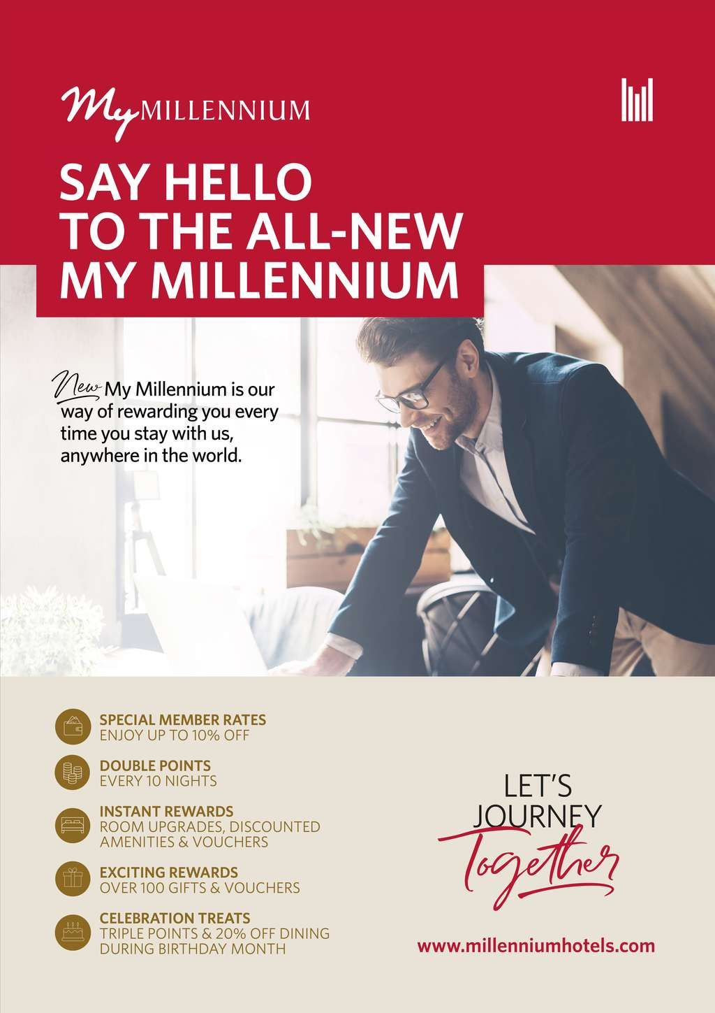 Millennium Hotels & Resorts Announces New My Millennium Guest Rewards Programme