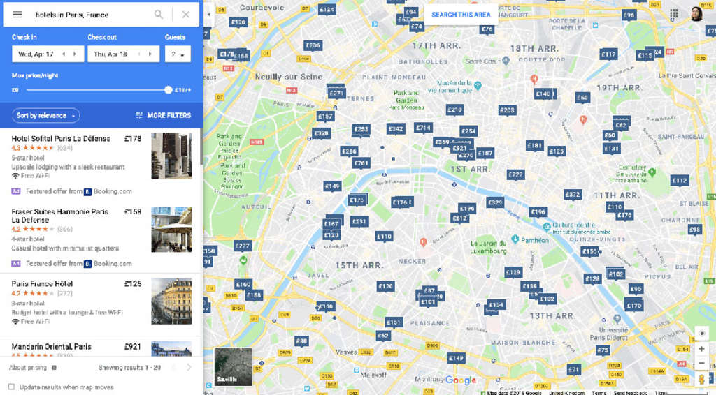Google launches hotel search