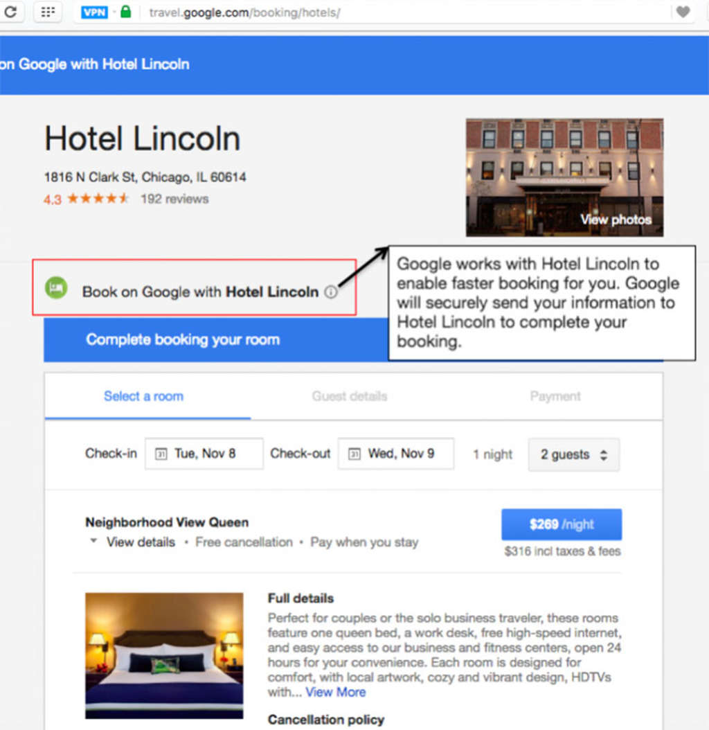 Analysing Googles New Booking Engine For Hotels And Vacation Rentals
