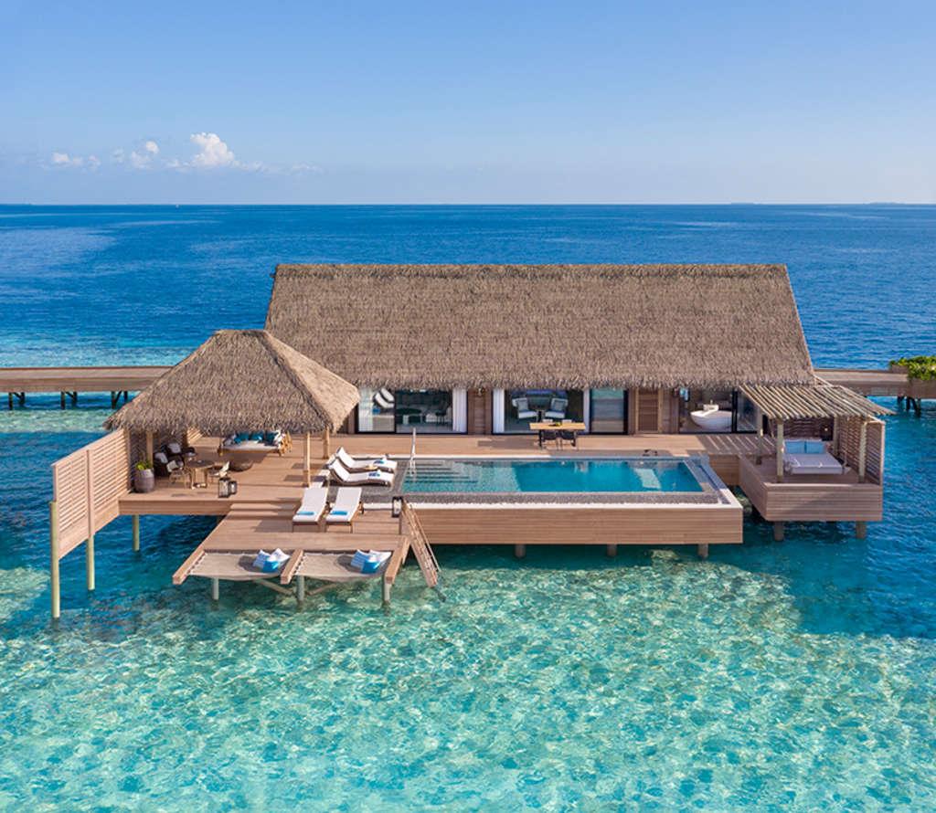 Luxury Pool Villas Maldives: Iconic Luxury Hotel Brand Debuts Unforgettable Island