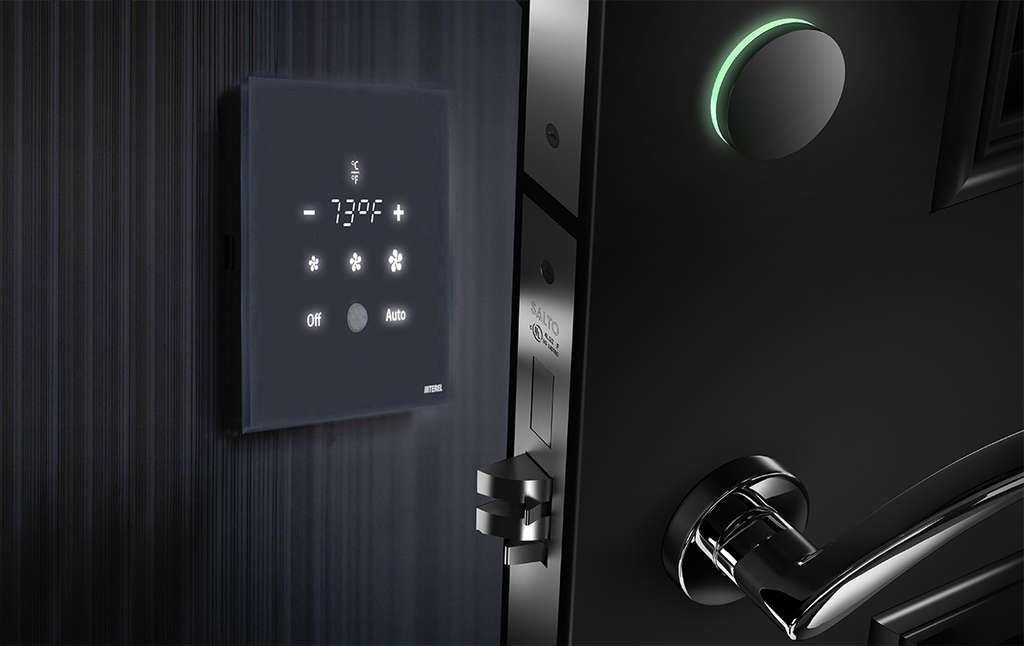 SALTO Systems and INTEREL deliver BLE Wireless lock