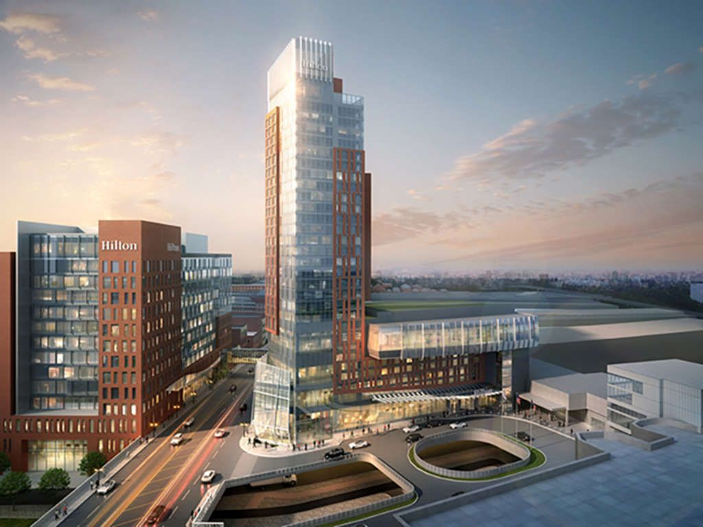 Hilton Columbus Downtown Breaks Ground On 28 Story Tower Expansion